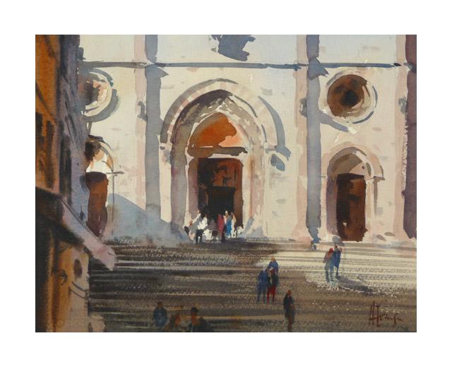 evansen Church_Steps_Todi